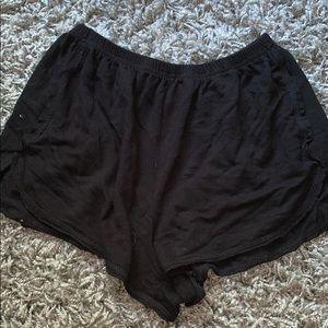 brandy melville flowey shorts